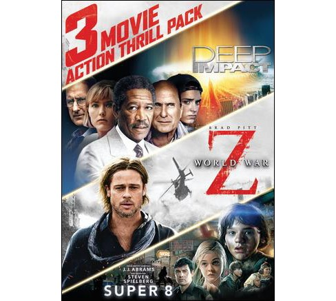 3 Movie Action Thrill Pack (DVD) - image 1 of 1