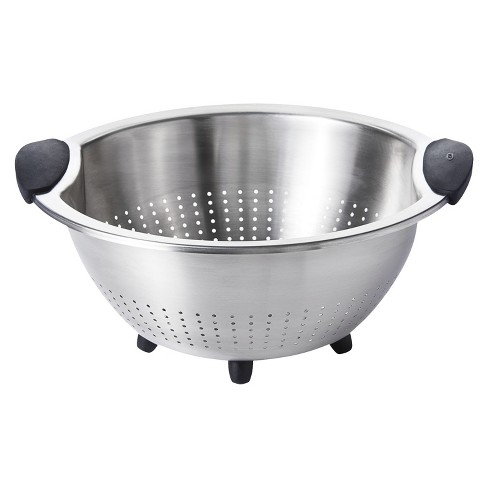 OXO 5 Qt Stainless Steel Colander - image 1 of 4