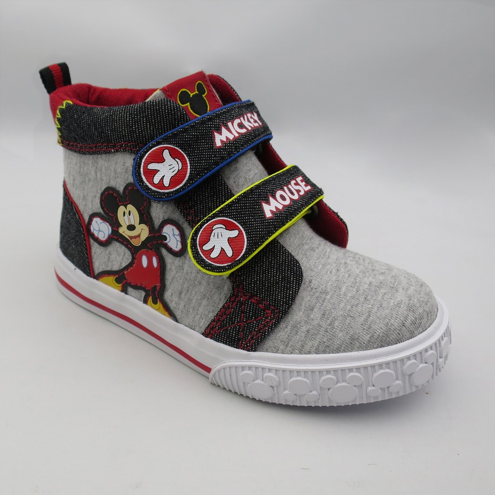 Toddler Boys' Disney Mickey Sneakers - Gray 10
