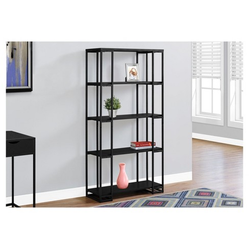 "Bookcase with Metal Detail 70"" - EveryRoom® - image 1 of 1"