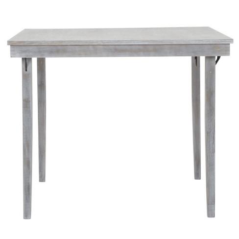 36 wood folding table gray cosco target watchthetrailerfo