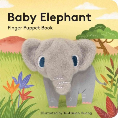 Baby Elephant Finger Puppet Book (Hardcover)