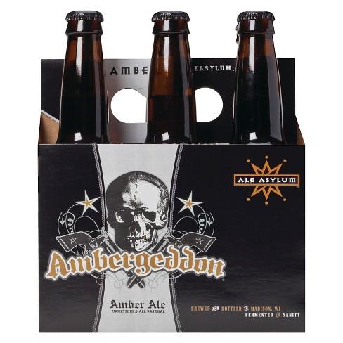 Ale Asylum Ambergeddon Beer - 6pk/12 fl oz Bottles - image 1 of 1