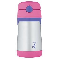 Thermos 10oz Foogo Straw Bottle - Pink