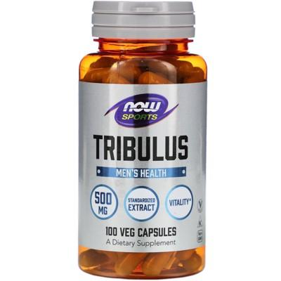 Now Foods Tribulus, 500 mg, 100 Veg Capsules, Herbal Supplements