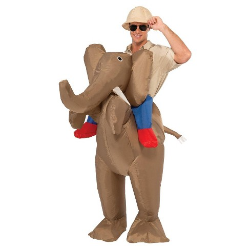 Adult Elephant Inflatable Costume OSFM - image 1 of 1