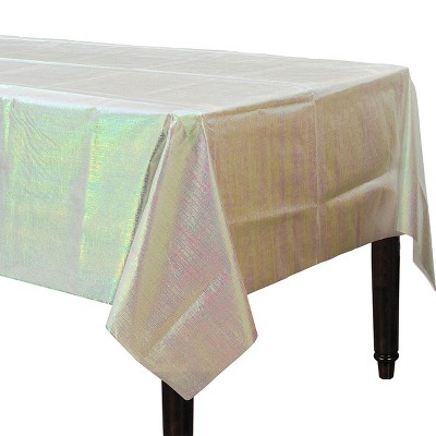 "54 x 108"" Irridescent Table Cover - Spritz™"