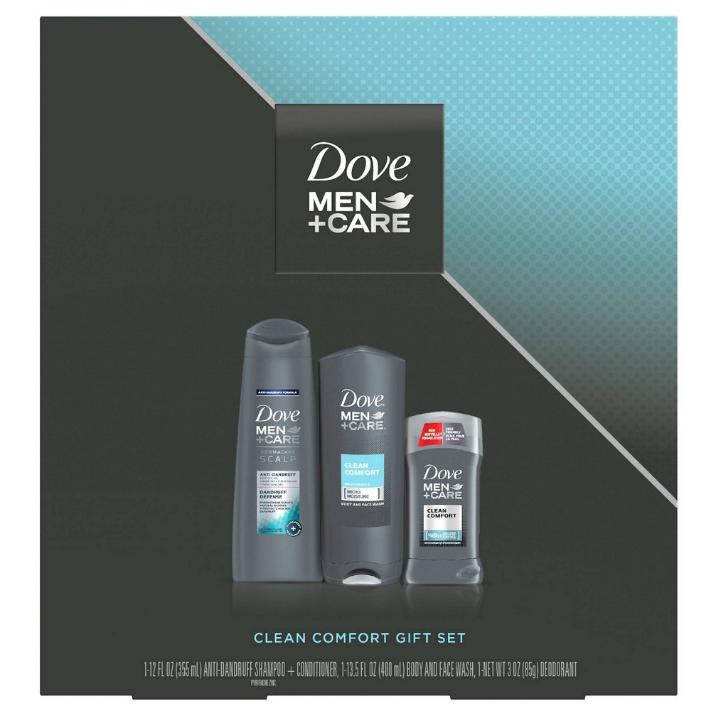 Image of Dove Men + Care Bath and Body Gift Set - 3pc