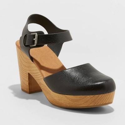 Women's Marcia Heeled Clog Heels - Universal Thread™