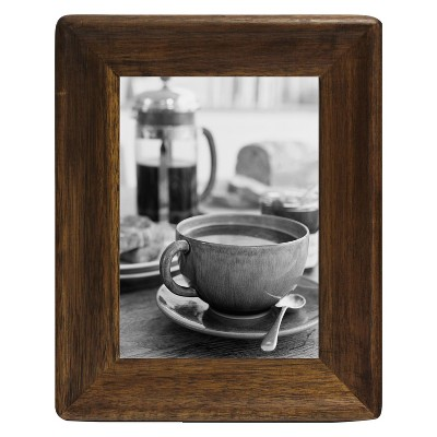 5  x 7  Rounded Corner Frame Golden Walnut - Threshold™