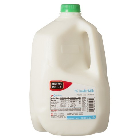 1% Milk - 1gal - Market Pantry™ - image 1 of 1