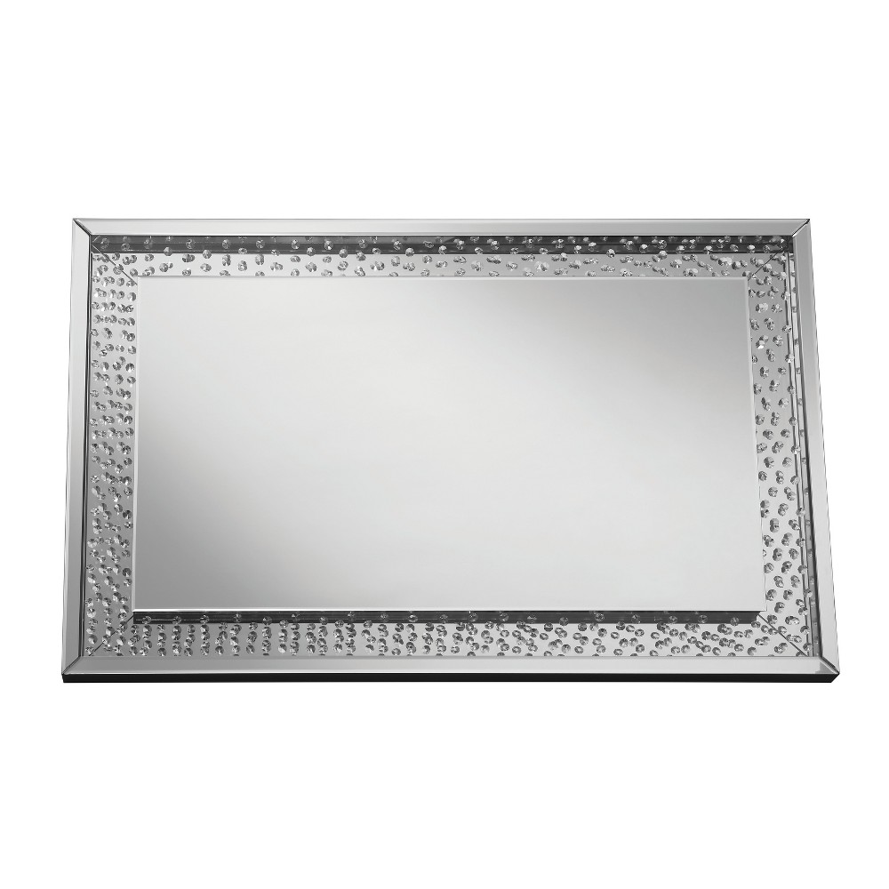Decorative Wall Mirror Silver Gray - Homes: Inside + Out