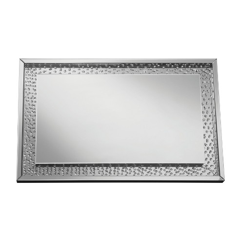Nelson Decorative Wall Mirror Silver - ioHOMES - image 1 of 3