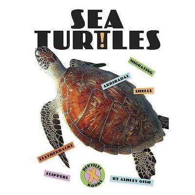 Sea Turtles - (X-Books: Reptiles)by Ashley Gish (Paperback)