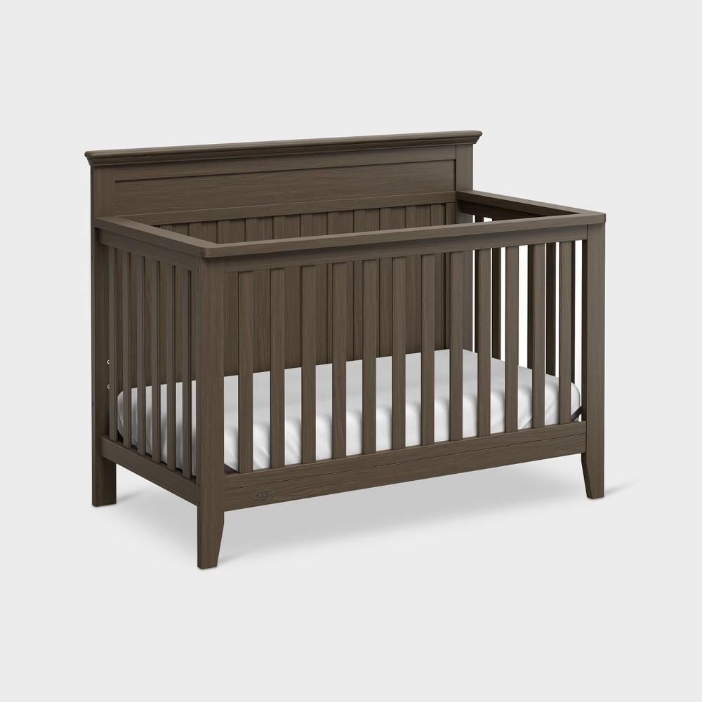 Graco Standard Full-sized Crib - Slate Gray