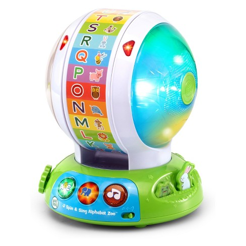 LeapFrog Spin & Sing Alphabet Zoo - image 1 of 4
