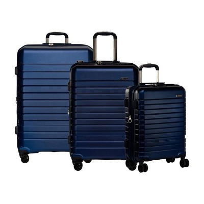 """Elle Uptown Expandable 3 Piece Spinner Luggage Set (20"""",25"""",29"""")"""