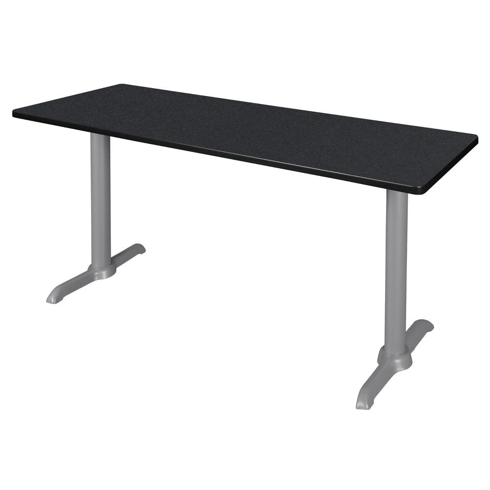 66 Via Training Table Carbon/Gray (Black/Gray) - Regency