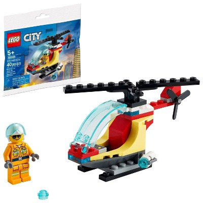 LEGO City Fire Helicopter 30566 Building Kit