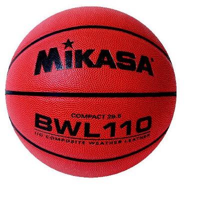 Mikasa Women's Premium Composite Leather Basketball, BWL110, 28-1/2 Inches