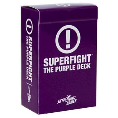 Superfight: Purple (Scenarios)Deck Game