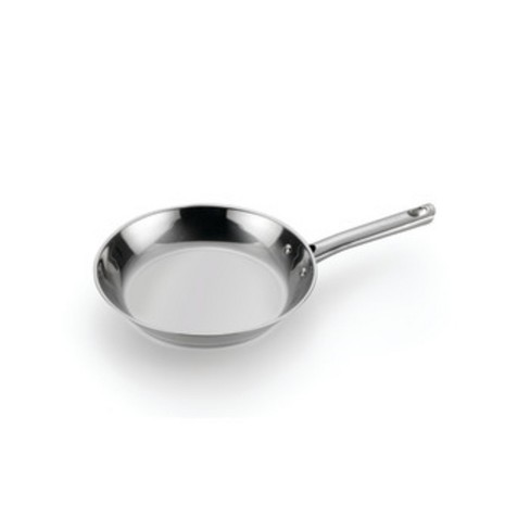 "T-Fal 10"" Stainless Steel Fry Pan with Lid - image 1 of 3"