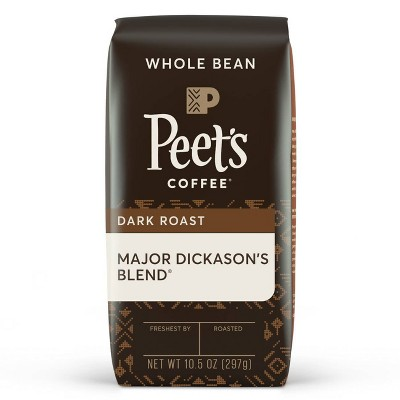 Peet's Major Dickason's Blend Dark Roast Whole Bean Coffee - 10.5oz