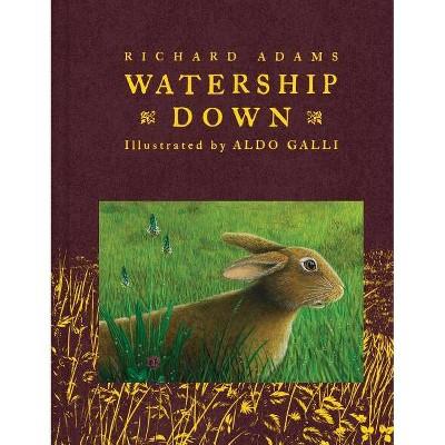 Watership Down - (Scribner Classics) by  Richard Adams (Hardcover)