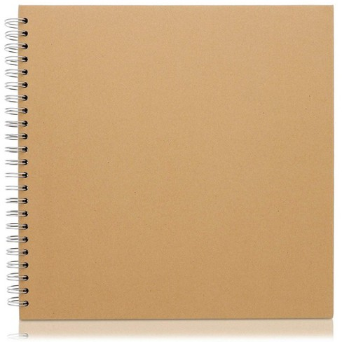 Paper Junkie Hardcover Kraft Blank Page Scrapbook Photo Album, 40 Sheets, 12 X 12 inches - image 1 of 4