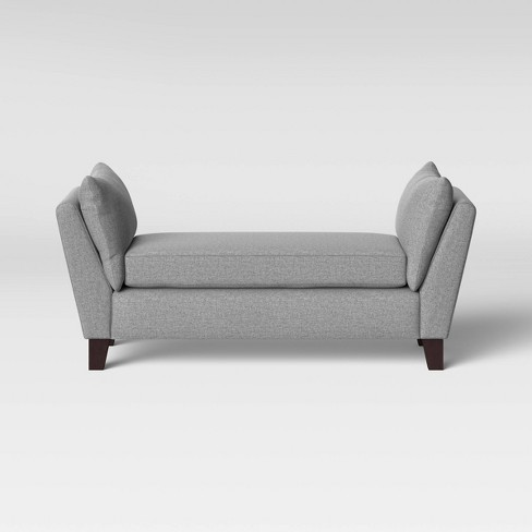 Canberra Modern Bench Gray - Project 62™ - image 1 of 4