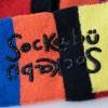 Toddler 2pk Sensory Friendly Pali Striped Socks - Sockabu 3T-4T - image 2 of 4