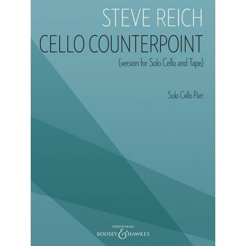 Cello Counterpoint (Version for Solo Cello and Tape) - Solo Cello Part - (Paperback) - image 1 of 1