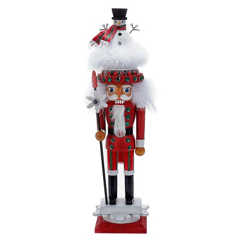 "Hollywood Nutcracker with Snowman Hat 18"" - image 1 of 1"