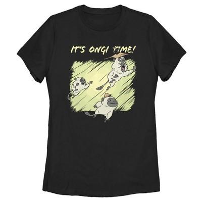 Women's Raya and the Last Dragon It's Ongi Time! T-Shirt