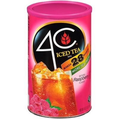 4C Iced Raspberry Tea Mix - 66.1oz