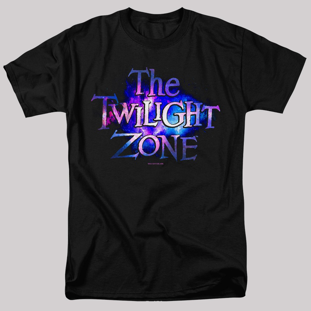 Men's The Twilight Zone Short Sleeve Graphic T-Shirt - Black S