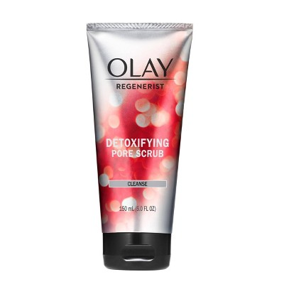 Facial Cleanser: Olay Regenerist Detoxifying Pore Scrub