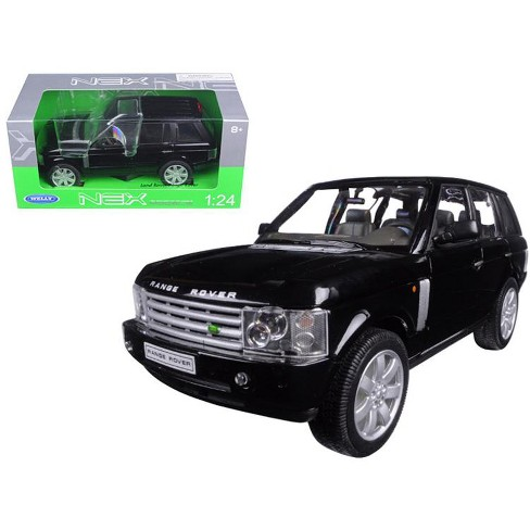 Land Rover Models >> Land Rover Range Rover Black 1 24 Diecast Model Car By Welly