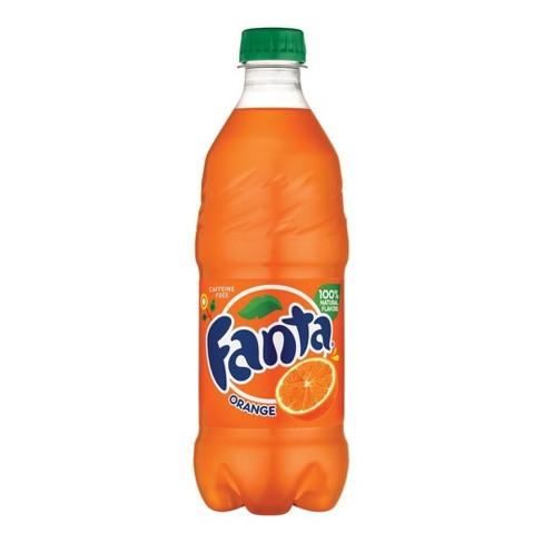 Fanta Orange Soda - 20 fl oz Bottle - image 1 of 4