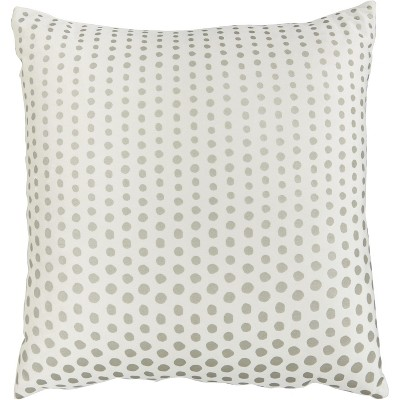 Inspire Me Home Decor L0238 Ivory Gold 18 X 18 Throw Pillow Target