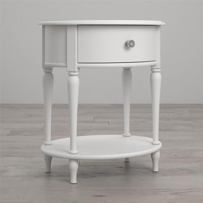 Rowan Valley Laren Oval Nightstand, White