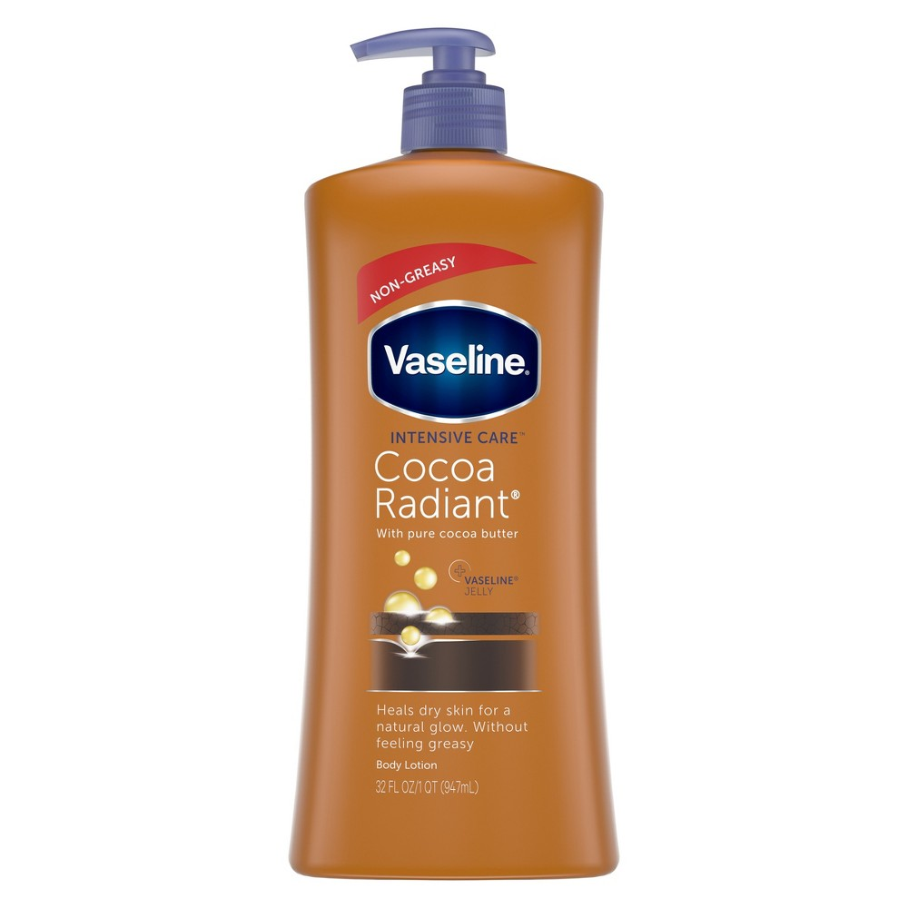 Vaseline Intensive Care Cocoa Radiant Lotion 32 oz