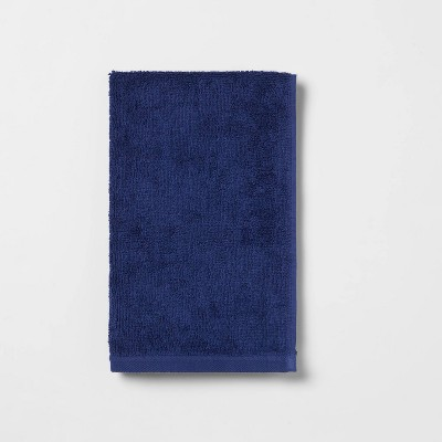 Everyday Solid Hand Towel Bright Blue - Room Essentials™