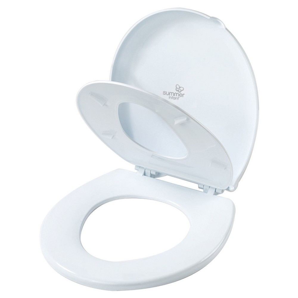 Summer Infant 2-in-1 Round Potty Topper - White