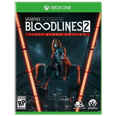 Vampire The Masquerade: Bloodlines 2 First Blood Edition - Xbox One