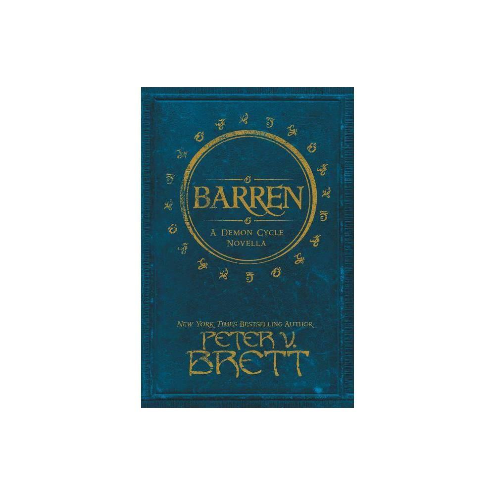 Barren By Peter V Brett Paperback