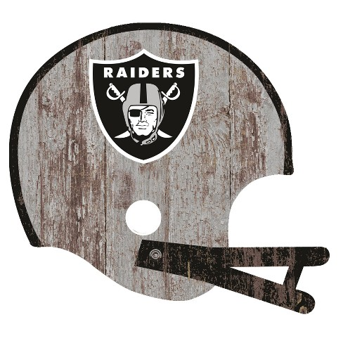 NFL Fan Creations Distressed Helmet Cutout Sign - image 1 of 1