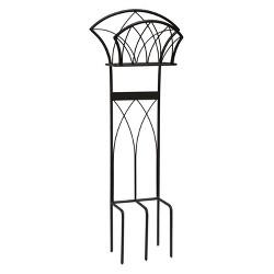 Liberty Garden LBG116 Steel Decorative Garden Hose Stand with Gothic Design