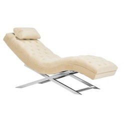 Monroe Chaise with Round Pillow - Safavieh®