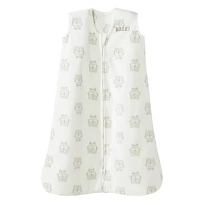 Halo Innovations SleepSack Wearable Blanket Micro Fleece - Cream Owls M